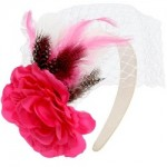 Lady Jayne Spring Racing set Large Satin Flower with Netting BandeauRRP $19.99